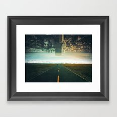 Roads Ahead Framed Art Print