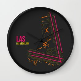 LAS Wall Clock