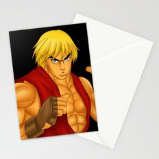 Ken Street Fighter Stationery Cards