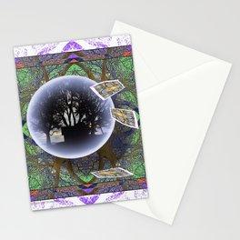 MANDALA OF PLACE AND ECONOMY Stationery Cards