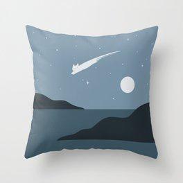 Cat Landscape 43 Throw Pillow