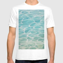 Connected - water painting T-shirt