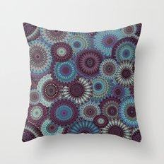 Mandala 152 (Floral) Throw Pillow