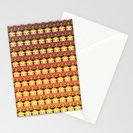 Lion Head Pattern Stationery Cards