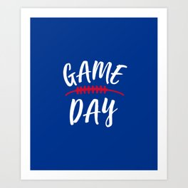 Buffalo Game Day Art Print