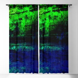 psychedelic sky clouds pattern wslsi Blackout Curtain