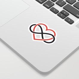 Never ending love Sticker