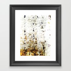 Golden Sand Framed Art Print