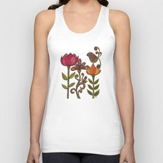 In the garden Unisex Tank Top