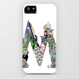 M is for Mack iPhone Case