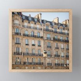Classique - Paris Apartments Framed Mini Art Print