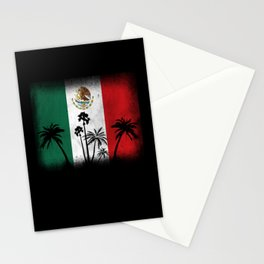 Mexico Flag Stationery Cards