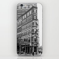 building iPhone & iPod Skins featuring BUILDING by Stephanie Bosworth