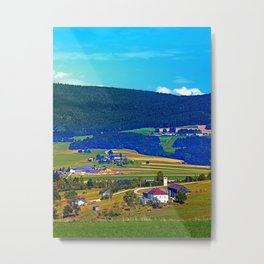 Some boring autumn scenery Metal Print