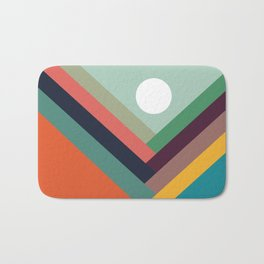 Rows of valleys Bath Mat