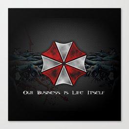 Umbrella Corporation Canvas Print