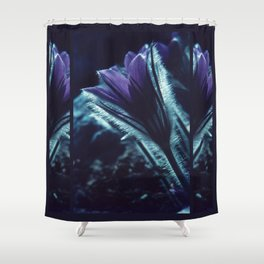 Flower in the Moonlight #2 #Purple Shower Curtain