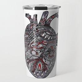 Red Heart Travel Mug