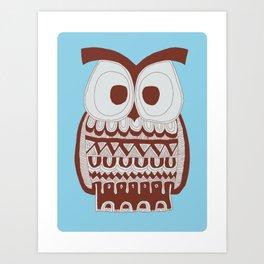 Dawson Owl Art Print