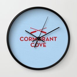 Cormorant Cove Wall Clock