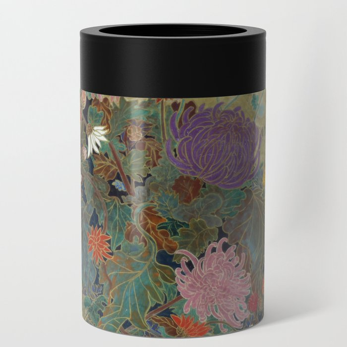 flower【Japanese painting】 Can Cooler
