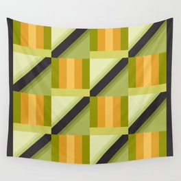 Parakeet Square Wall Tapestry