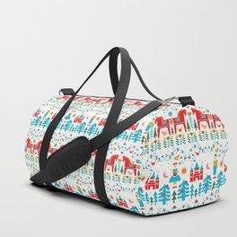 Scadinavian Fairytale Bright Duffle Bag
