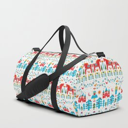 Scadinavian Fairytale Bright Duffle Bag