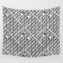 Swords and Lace Wall Tapestry