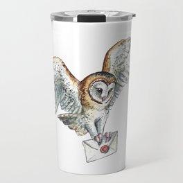 Mail Owl (Barn Owl)   Travel Mug