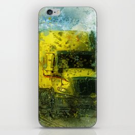 The Delivery  - Freight Truck iPhone Skin