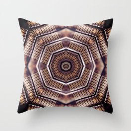 Knowledge Mandala for Inner Wisdom Throw Pillow