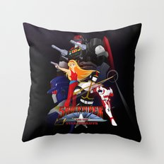 Bismarck Saber Rider Throw Pillow