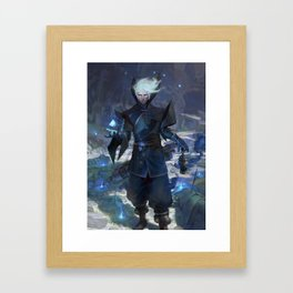 Iran The Sorcerer  Framed Art Print