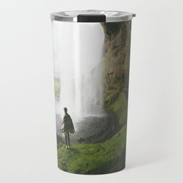 In the shadow of the falls Travel Mug