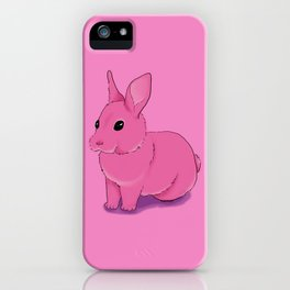 Cute Pink Bunny iPhone Case
