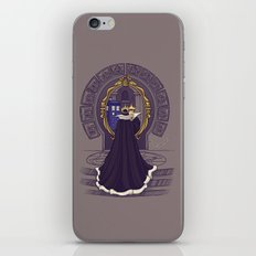 Mirror Mirror on the Wall...Who's the Doctor Come to Call? iPhone & iPod Skin