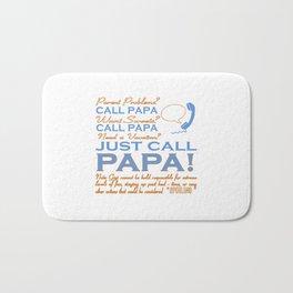Just call Papa Bath Mat
