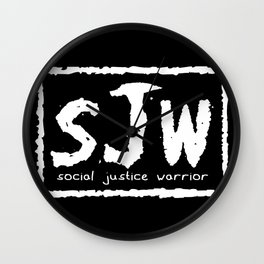 sJw - Social Justice Warrior Wall Clock