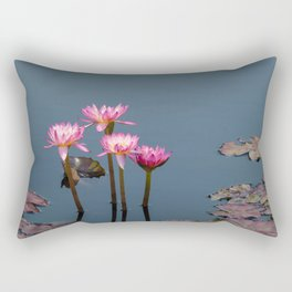 Amazonian Water Lily Rectangular Pillow