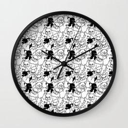 Oh French Bulldog Wall Clock