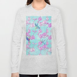 orquídeas Long Sleeve T-shirt
