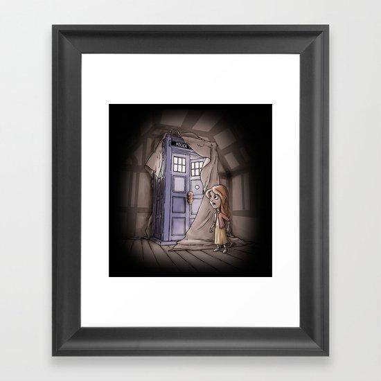 Bigger on the Inside! Framed Art Print