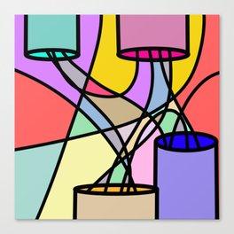 Pwer Canvas Print