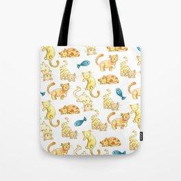 Kitty-Wampus Tote Bag