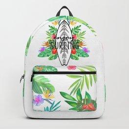 Enjoy surfing Backpack