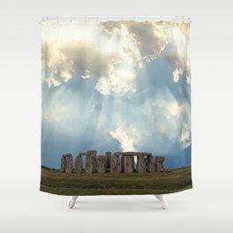 Stonehenge II Shower Curtain