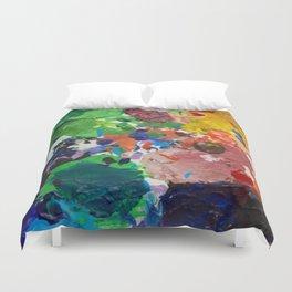 Palette of Colors Duvet Cover