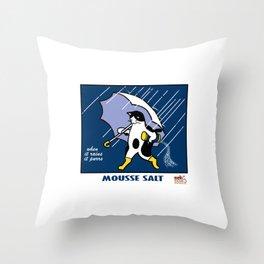Mousse Salt Throw Pillow