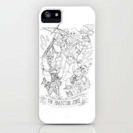 The Adventure Zone: Tres Horny Boys iPhone Case